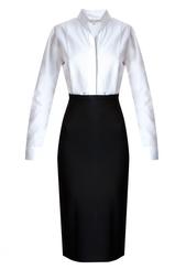 Черно-белое платье-футляр Alexander Terekhov