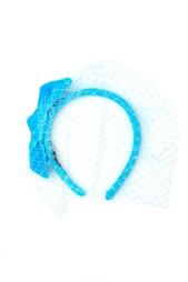 Голубой ободок с вуалью Konstantin Gayday