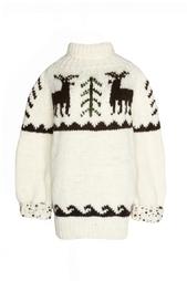 Шерстяной свитер A LA Russe