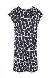 Платье из шелка и хлопка Tara Diane von Furstenberg