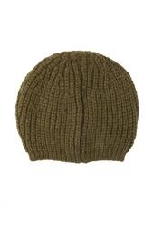Вязаная шапка цвета хаки Isabel Marant