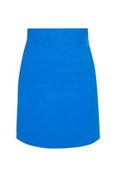 Синяя юбка на высокой талии Stella Mc Cartney