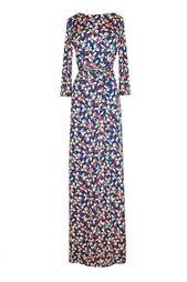 Платье в пол с ягодным принтом - нет в наличии Alexander Terekhov