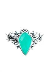 Серебряное кольцо с хризопразом Stephen Webster