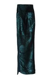 Длинная юбка с вырезом Balmain