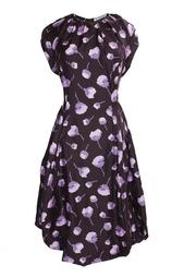 Платье с пышной юбкой и принтом Nina Ricci