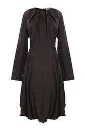 Шелковое платье с пышной юбкой Nina Ricci