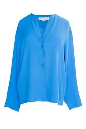 Рубашка из шелка с длинными рукавами Stella Mc Cartney
