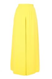 Широкие желтые брюки Jonathan Saunders