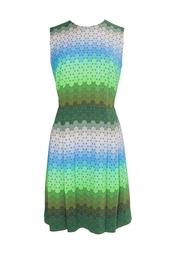 Платье из вискозы и эластана Jonathan Saunders