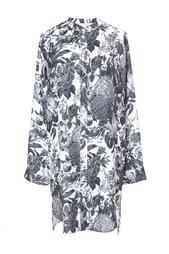 Шелковое платье-рубашка Stella Mc Cartney