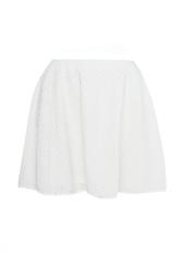 Трикотажная юбка отделанная бусинами Opening Ceremony