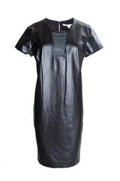 Кожаное платье Medya Diane von Furstenberg