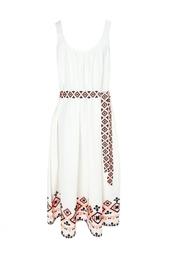 Платье из вискозы и хлопка Suno