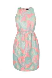 Платье без рукавов с цветочным принтом Suno