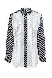 Шелковая рубашка с принтом Isabel Marant