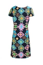 Платье с вырезом на спине (70-е гг.) Lanvin Vintage