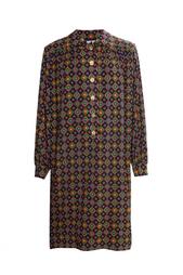Платье свободного кроя на пуговицах (70-е гг.) Yves Saint Laurent Vintage