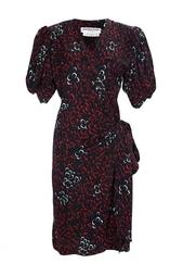 Платье с рукавами-фонариками (80-е гг.) Yves Saint Laurent Vintage