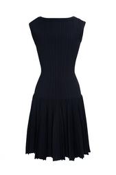 Платье из вискозы и полиэстера Azzedine Alaïa