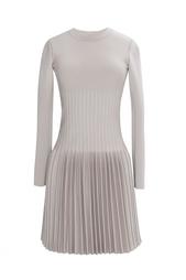 Платье из шерсти и вискозы Azzedine Alaïa