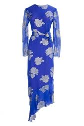 Платье с золотыми цветами (90-е гг.) Hanae Mori Paris Vintage