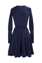 Платье из шерсти и полиэстера Azzedine Alaïa