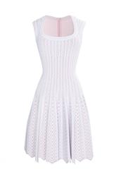 Платье из вискозы и полиамида Azzedine Alaïa
