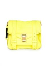 Ярко-желтая сумка на длинном ремешке Proenza Schouler