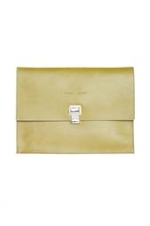Клатч-конверт из кожи Proenza Schouler