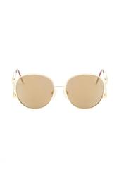 Солнцезащитные очки с фирменным знаком (90-е гг.) Chanel Vintage