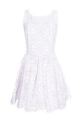 Хлопковое платье Azzedine Alaïa