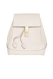 Кожаный рюкзак с матовой золотой фурнитурой (90-е гг.) Celine Vintage