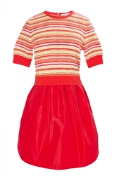 Платье из искусственного шелка Carven