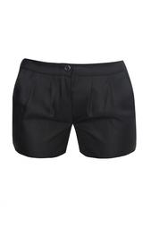 Черные классические шорты из шелка с добавлением шерсти Thakoon