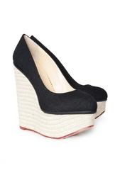 Льняные туфли Carmen Charlotte Olympia