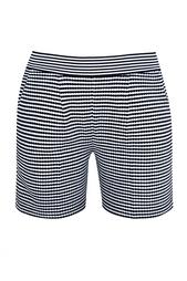 Полосатые шорты из шелка Oscar de la Renta