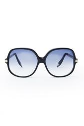 Солнцезащитные очки с металлическими дужками Victoria Beckham