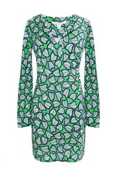 Шелковое платье Reina L/S Diane von Furstenberg