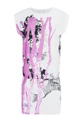 Платье-мини с принтом и узором из пайеток Tara Diane von Furstenberg