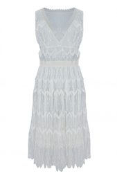 Платье из вискозы Nina Ricci
