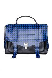 Сумка-портфель с геометрическим принтом Proenza Schouler