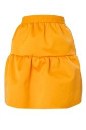 Объемная юбка из хлопка Roksanda