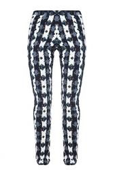 Зауженные брюки из вискозы с геометрическим принтом Peter Pilotto