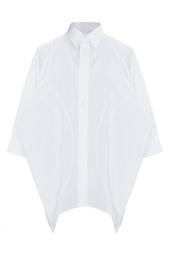 Блуза оригинального кроя с укороченным рукавом Junya Watanabe