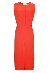 Платье из ацетата и вискозы Victoria by Victoria Beckham