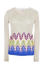 Пуловер из вискозы и полиэстера Carven