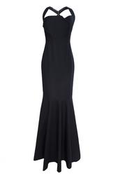 Платье из хлопка и эластана Roland Mouret