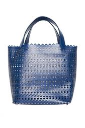 Кожаная сумка Azzedine Alaïa