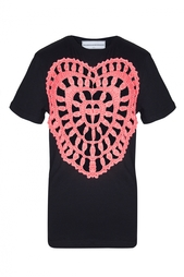 Хлопковая футболка Golden Heart Michaela Buerger